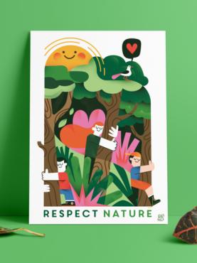 respect nature fonzynils copyright